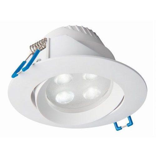 Nowodvorski Oczko elo 8990 lampa sufitowa oprawa downlight 1x5w led 4000k białe (5903139899093)
