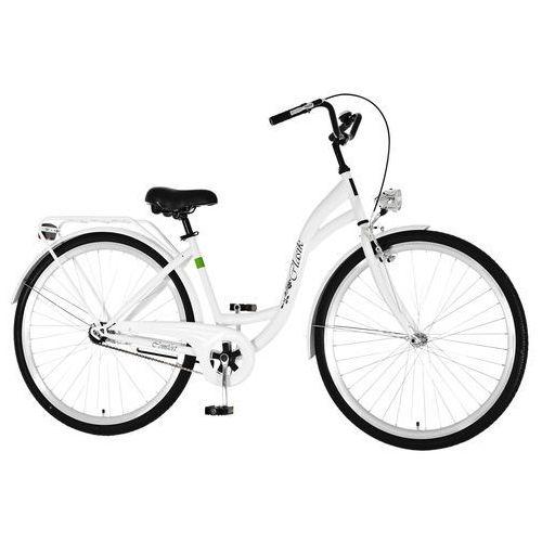 Dawstar Rower DAWSTAR Retro S1B Biały + DARMOWY TRANSPORT! + Zagwarantuj sobie dostawę przed Mikołajkami!
