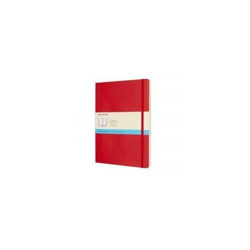 Moleskine Notatnik classic xl kropki, miękka oprawa, czerwony (8055002854702)