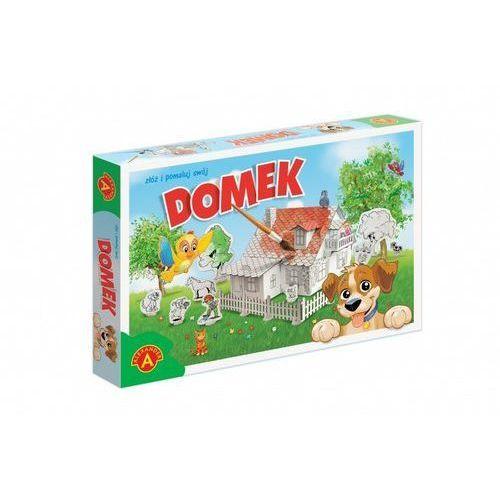 Alexander Domek do malowania z pieskiem - darmowa dostawa od 199 zł!!! (5906018020175)