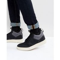 zerodawn hi top trainers in black - black, Steve madden