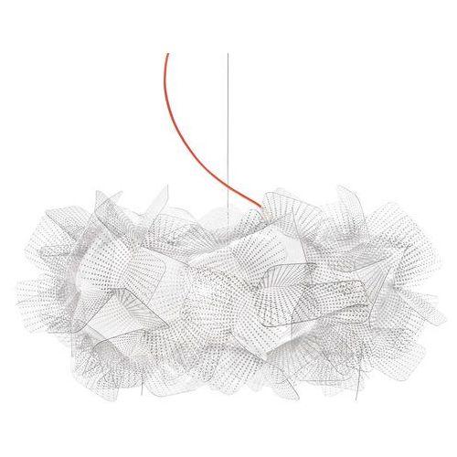 Slamp Clizia Pixel lampa wisząca, czerwony, 53 cm (8024727078311)