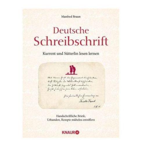Deutsche Schreibschrift - Kurrent und Sütterlin lesen lernen