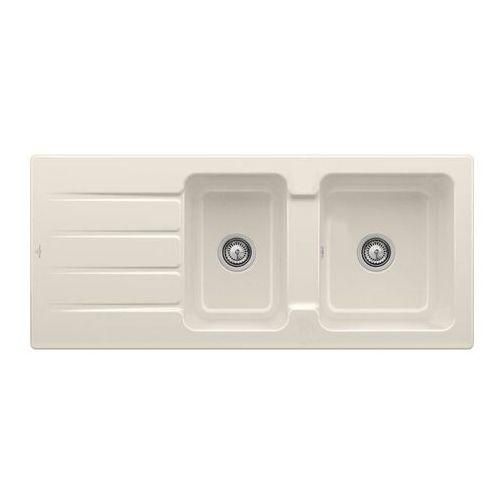Villeroy & boch architectura 80 crema zlew ceramiczny - kr crema (błyszczący) \ manualny (4051202981273)