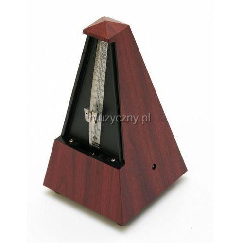 Wittner 845111 903300 Piramida metronom mechaniczny bez akcentu, kolor mahoń