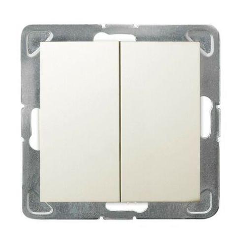 ospel Łącznik podwójny ecru łp-2y/m/27 impresja ospel (5907577438050)