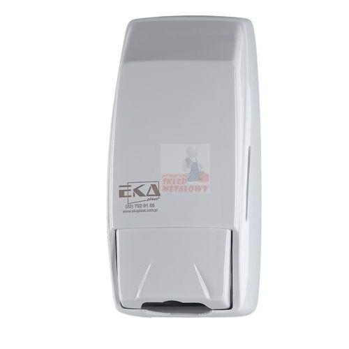 Dozownik do mydła w płynie salamanka 0,75 litra plastik biały marki Ekaplast