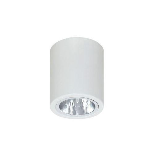 Luminex Spot round 7234 oprawa sufitowa 1x60w e27 biała