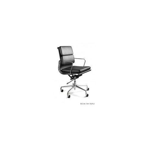 Krzesło biurowe wye low hl skóra naturalna marki Unique meble
