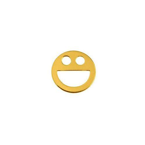 Blaszka Celebrytka Uśmiech, złoto próba 585