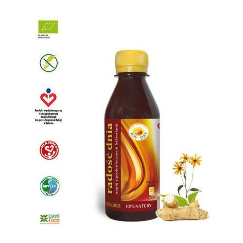 Living food Napój probiotyczny topinambur poj. 200 ml. (5901549746167)
