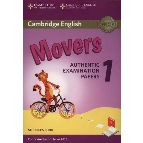 Cambridge English Movers 1 For Revised Exam From 2018 Student's Book, Cambridge University Press