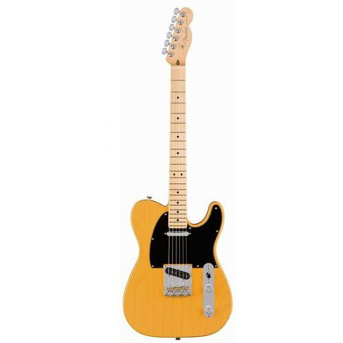 Fender  american pro telecaster mn butterscotch gitara elektryczna, podstrunnica palisandrowa