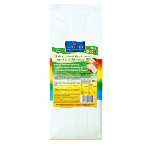 Ekstra uniwersalny koncentrat mąki niskobiałkowej PKU 500g bezglutenowe BEZGLUTEN, 5907459846607