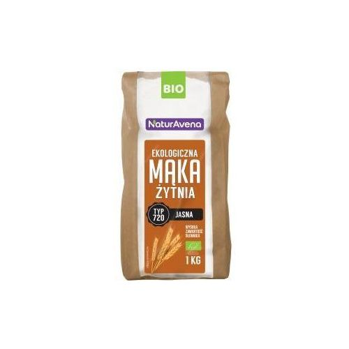 Mąka Żytnia Jasna Typ 720 BIO 1kg - Naturavena
