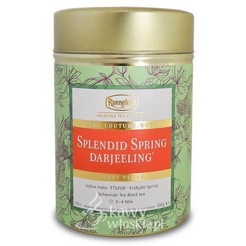 Czarna herbata Ronnefeldt Couture Splendid Spring Darjeeling 100g - produkt z kategorii- Czarna herbata