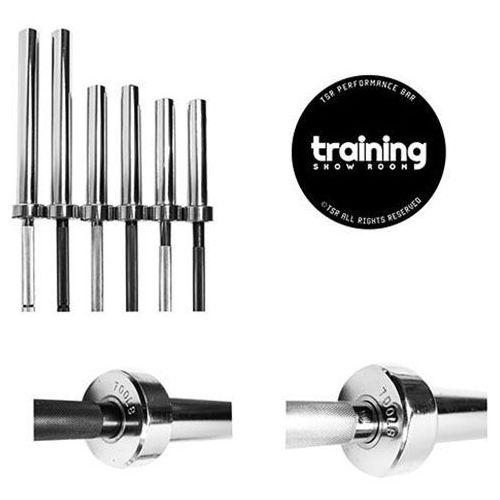 Gryf olimpijski prosty tsr silver 13kg (srebrny) marki Trainingshowroom