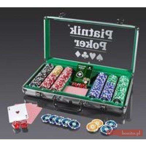 Pro poker alu-case - 300 żetonów 14g marki Piatnik