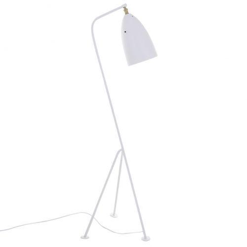 Stojąca LAMPA podłogowa LEVIGNE MLE3058/1-WH Italux metalowa OPRAWA na trójnogu biała