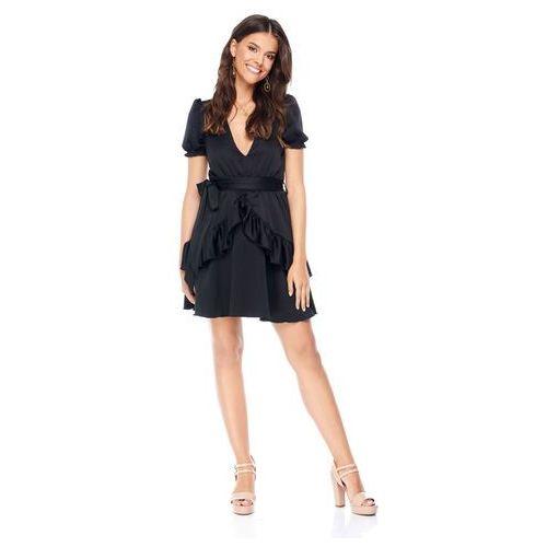 Sukienka Erica w kolorze czarnym, kolor czarny