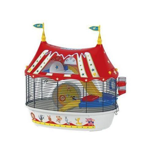 circus fun klatka dla chomika z wyposażeniem marki Ferplast