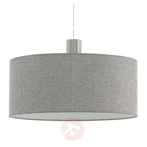 Eglo 97672 - Żyrandol na lince CONCESSA 2 1xE27/60W/230V 530 mm, kolor Srebrny