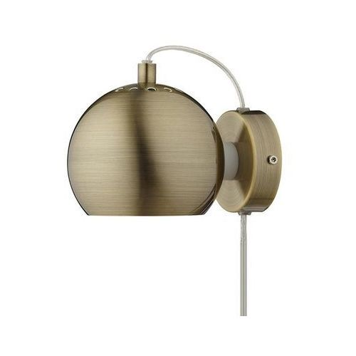 Frandsen Ball-kinkiet ścienny nastawny Ø12cm (5702410239012)