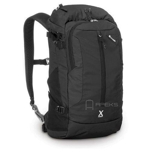 Pacsafe Venturesafe X22 plecak antykradzieżowy na laptopa 13'' / Black - Black, kolor czarny