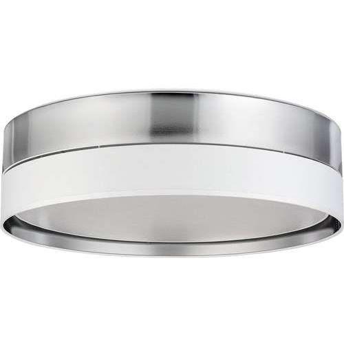 TK Lighting Hilton 4179 plafon lampa sufitowa 4x60W E27 srebrny/biały