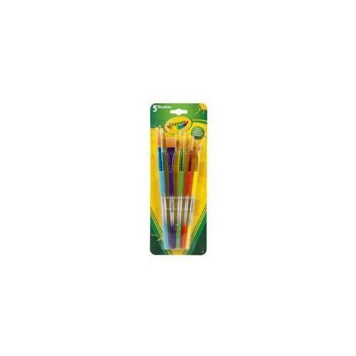 Crayola Zestaw pędzelków 5 sztuk