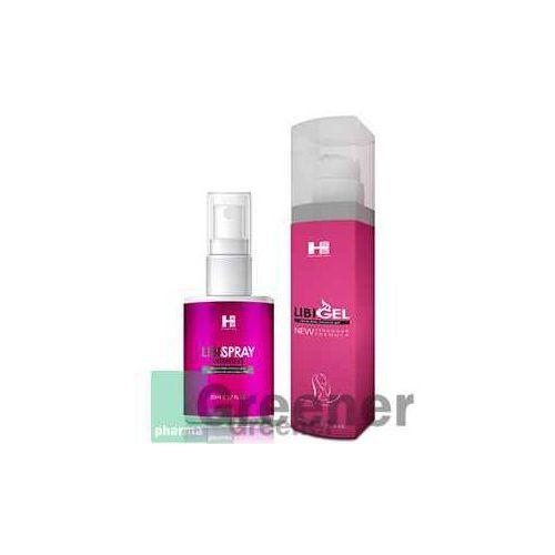 Zestaw SHS LibiGel + LibiSpray – spray + żel wzmacniający libido dla kobiet