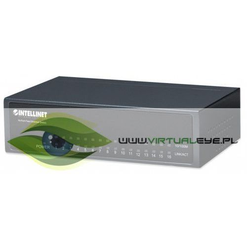 Intellinet Przełącznik Fast Ethernet Switch 16x, 1_663346