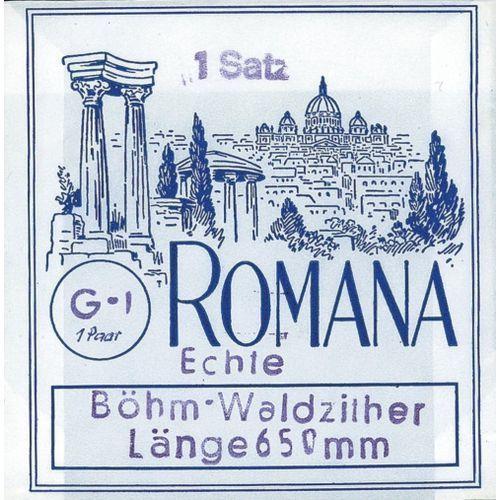 (661206) struny do cytry leśnej - komplet 9-strunowy marki Romana