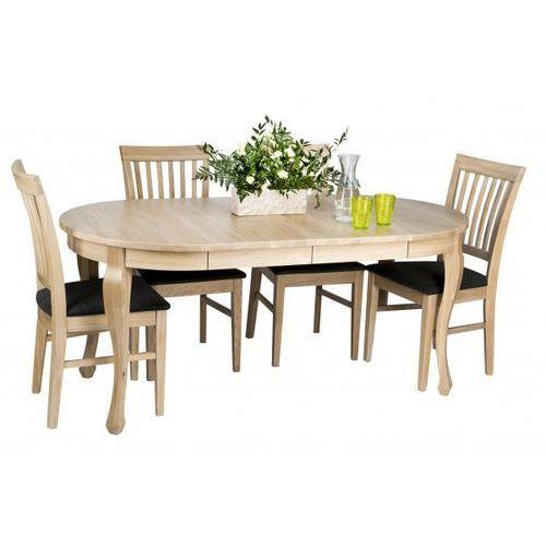design zestaw do jadalni - stół luna romantic + krzesła marki Signu
