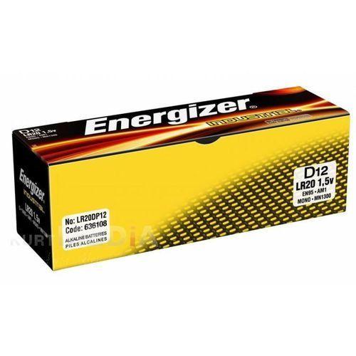 12 x bateria alkaliczna Energizer Industrial LR20 D z kategorii Baterie