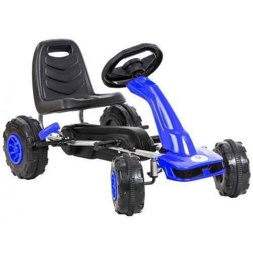 Kidzmotion Gokart na pedały kidz motion jeździk dla dzieci 3-8 lat niebieski + darmowy transport!
