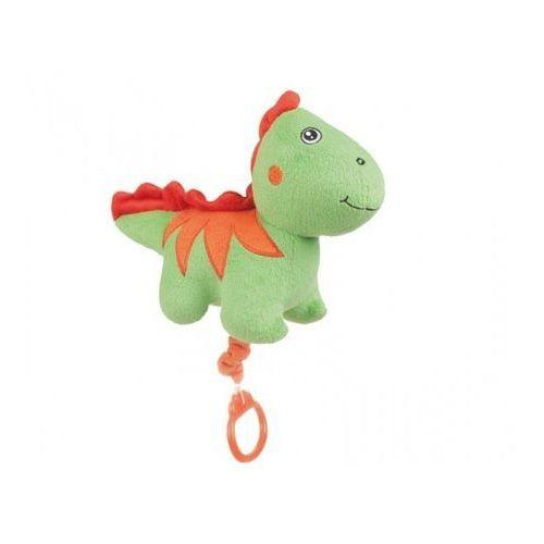 CANPOL Babies Pluszowa zabawka z pozytywką Dino, zielona, kup u jednego z partnerów