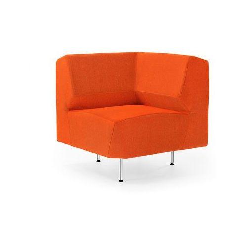 Moduł narożny sofy pomarańczowy 750x750 mm, towar z kategorii: Narożniki