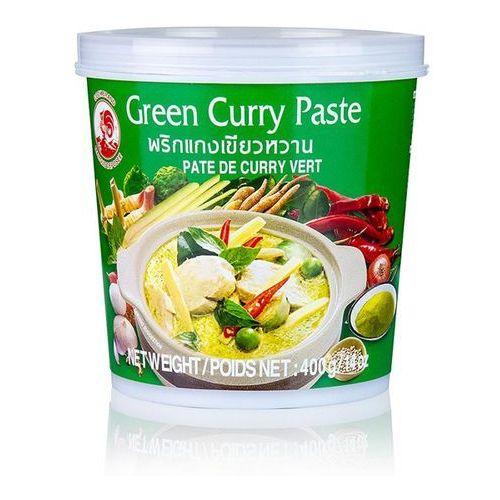 Cock brand Pasta curry zielona 400g (4357652345157)