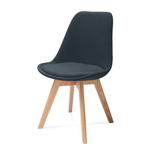 Nowoczesne tapicerowane krzesło harry a marki Hliving