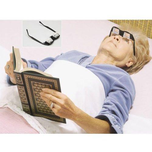 Okulary pryzmatyczne do czytania na leżąco marki Żyj łatwiej