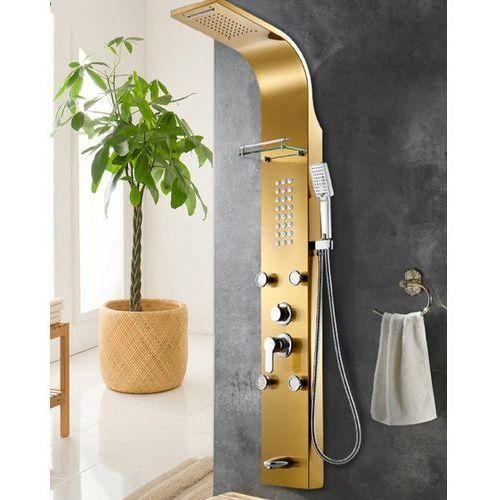 Indes Panel prysznicowy deszczownica hydromasaż kaskada