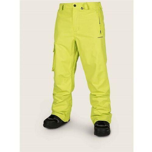 Spodnie - ventral pant lime (lim), Volcom
