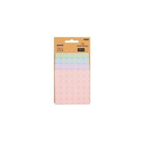 Notesy Magic Pads 4 stop. 4x25 kartek bloom kwiaty (4712759280737)