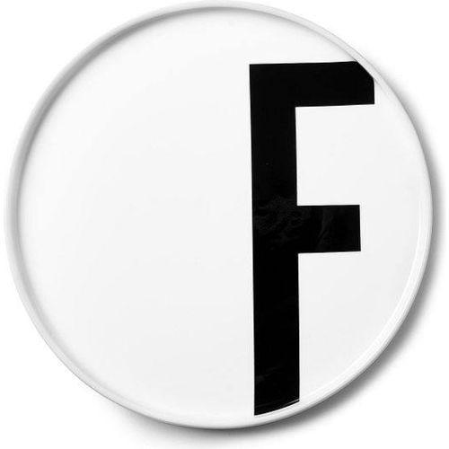Talerz porcelanowy AJ litera F (5710498720391)