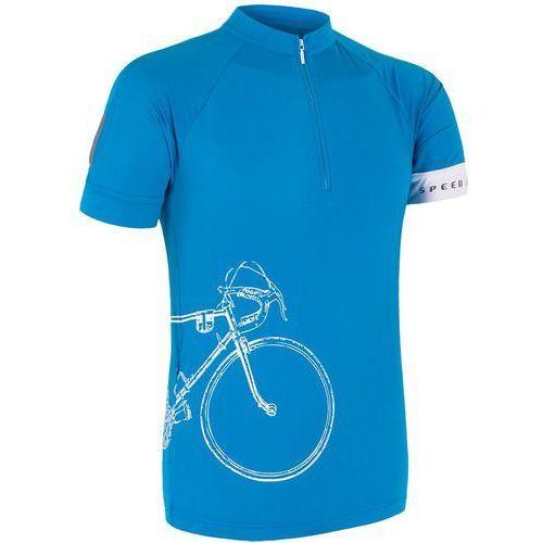 Sensor Męska koszulka z krótkim rękawem Cyklo Tour Blue