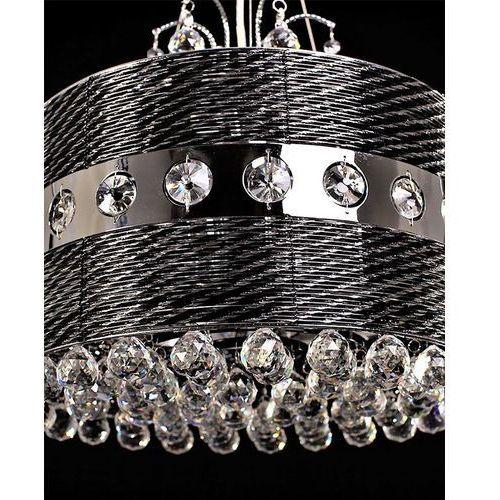 Lampa wisząca kryształowa fiorisia w4 ldp 0236-4 - marki Lumina deco