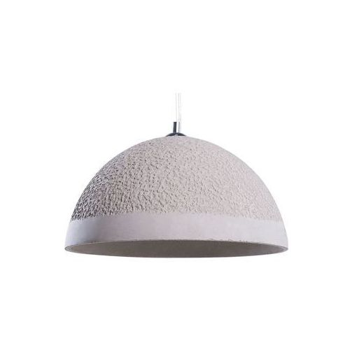 Beliani Lampa wisząca betonowa szara tanana (4260580922567)