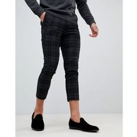 Only & Sons Cropped Tapered Smart Trouser - Black