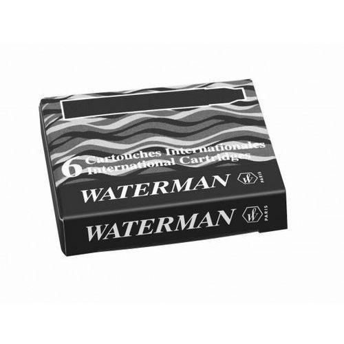 Naboje  krótkie czarny (6szt.) marki Waterman